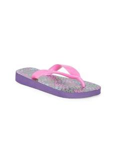 Havaianas Toddler's & Girl's Flores Flip Flops