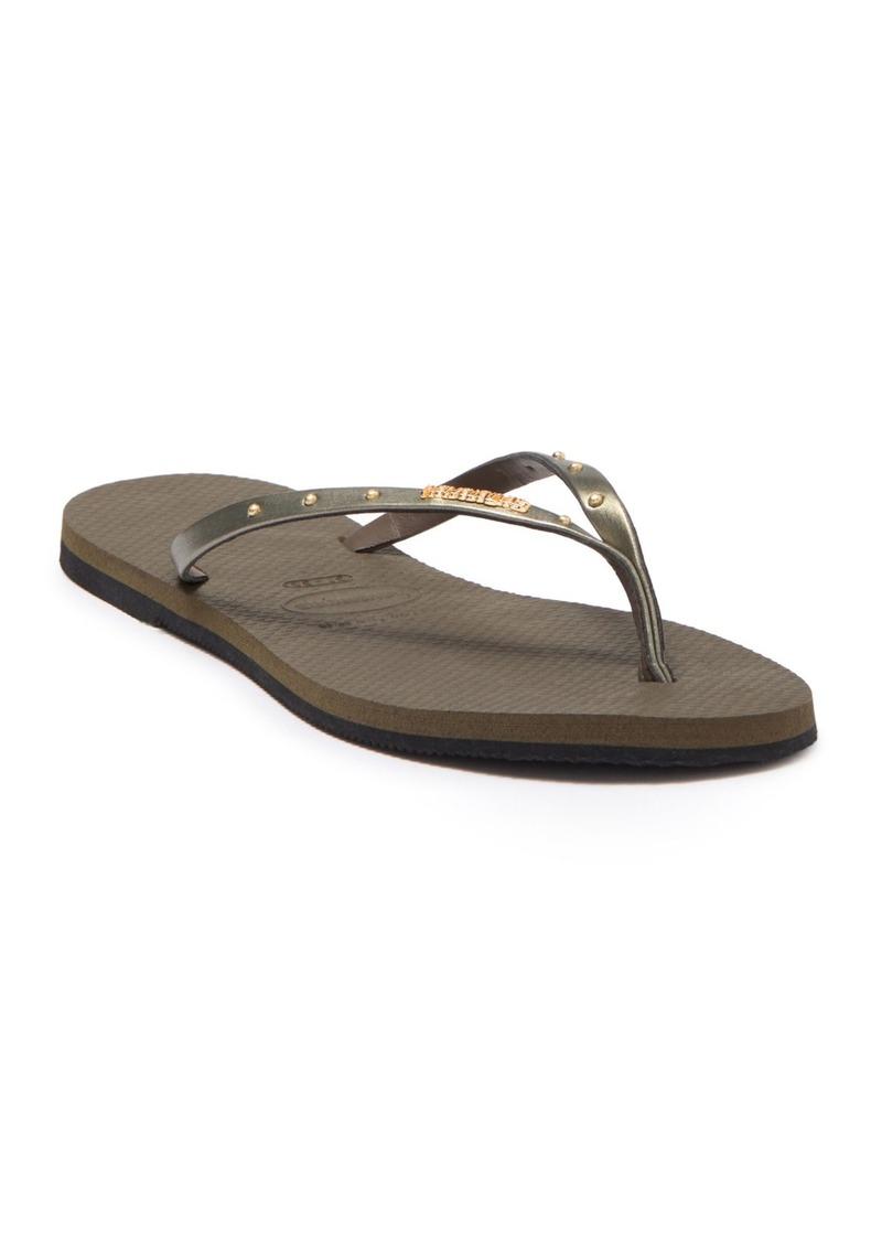 Havaianas You Maxi Studded Sandal