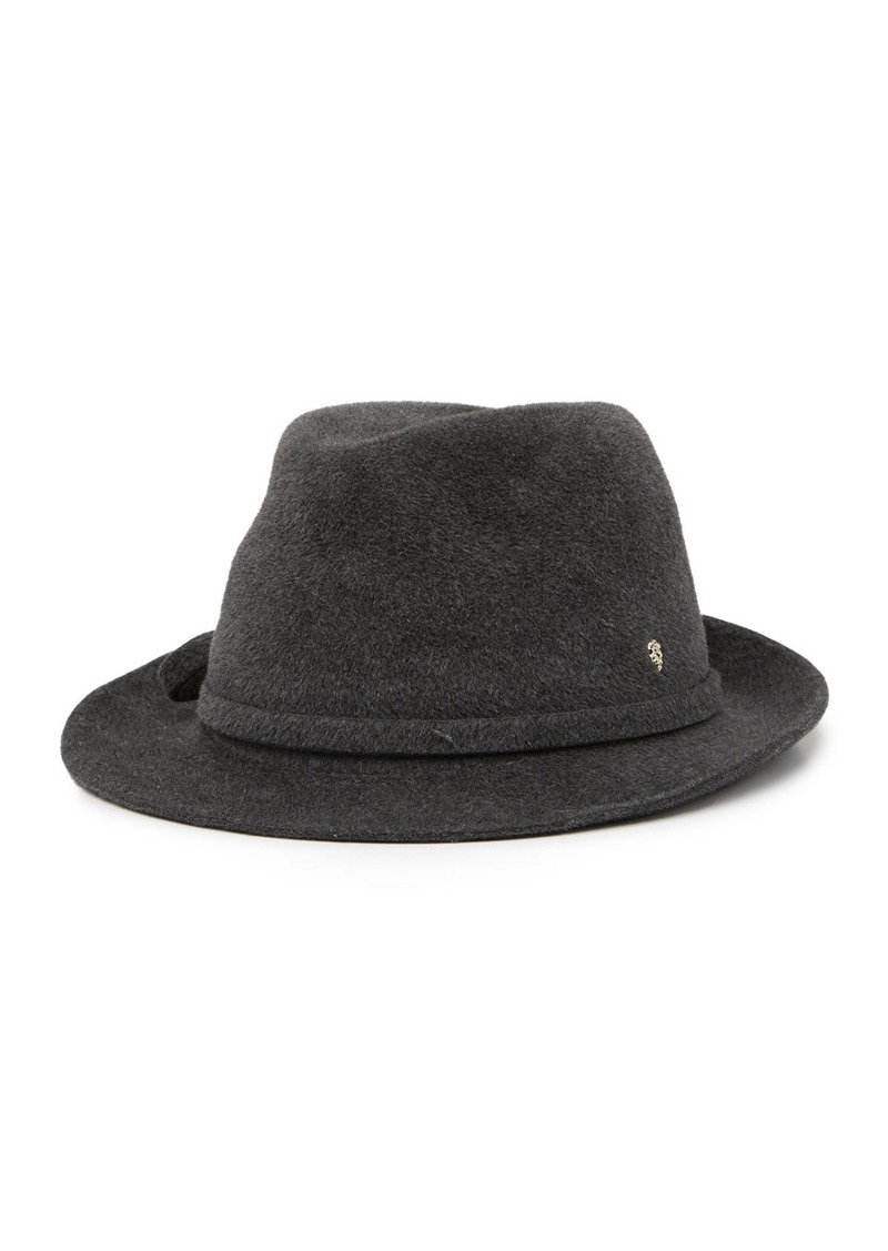 Helen Kaminski Anice Genuine Formed Rabbit Fur Fedora
