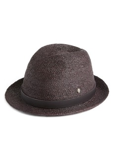 Helen Kaminski Classic Packable Braid Raffia Fedora