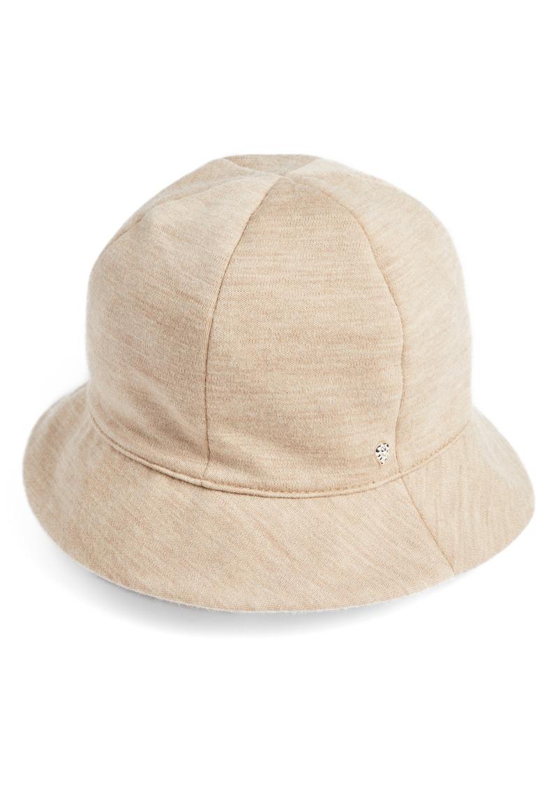 c9b2824cb282b Helen Kaminski Helen Kaminski Merino Wool Jersey Bucket Hat