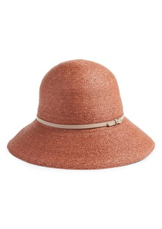 Helen Kaminski Packable Raffia Cloche Hat