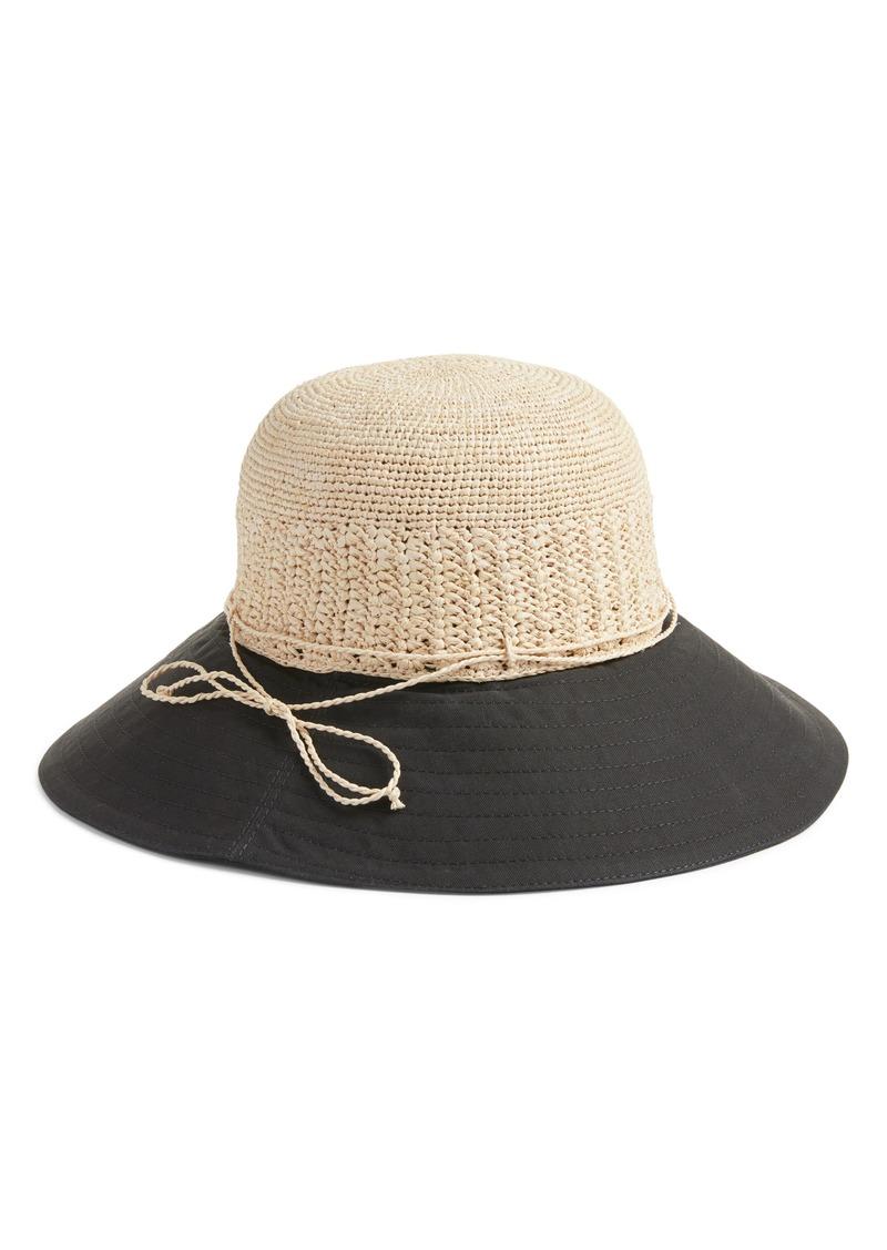 7b5d4e80 Helen Kaminski Helen Kaminski Raffia & Canvas Hat | Misc Accessories