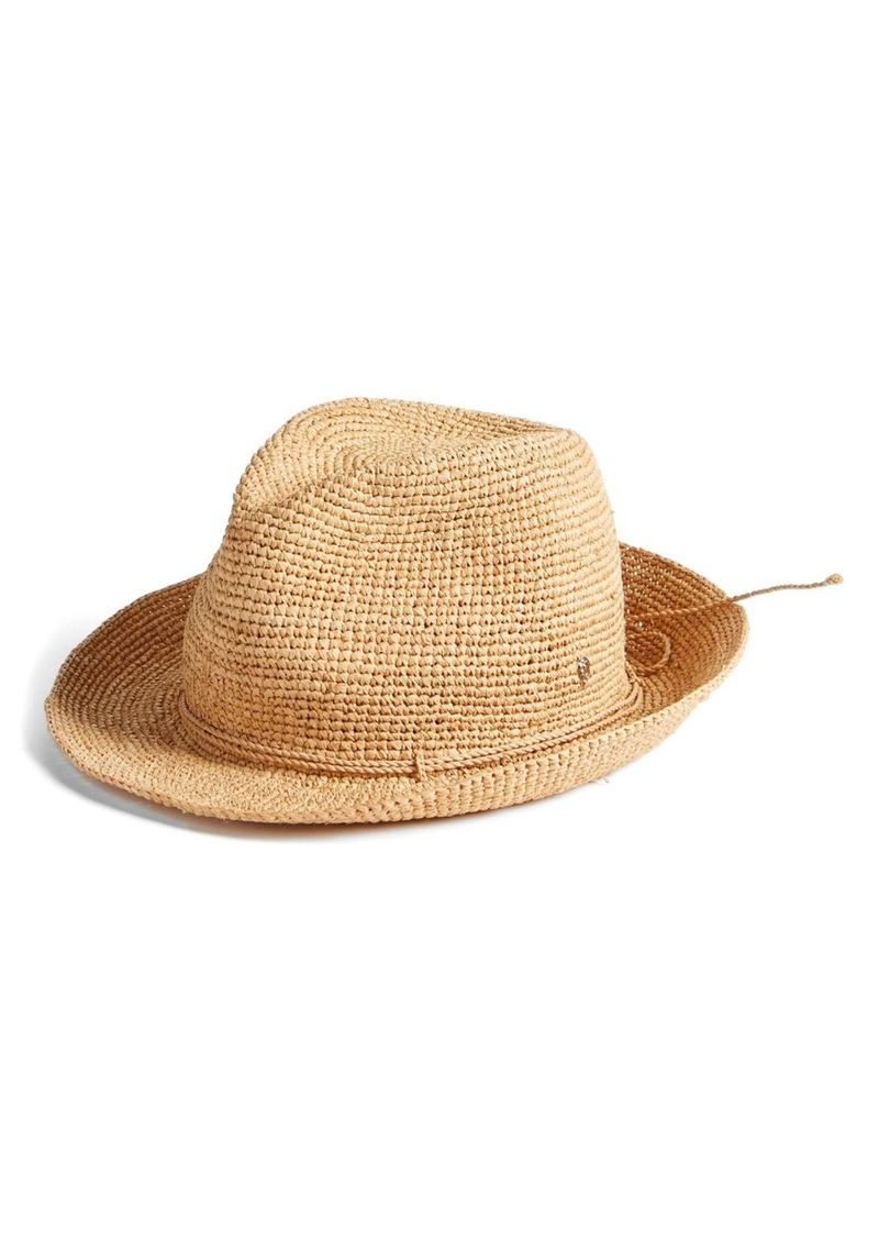 32857e86 Helen Kaminski Helen Kaminski Raffia Crochet Packable Sun Hat | Misc ...