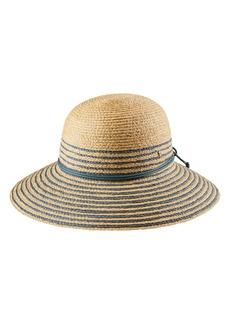 Helen Kaminski Riley Stripe Raffia Hat