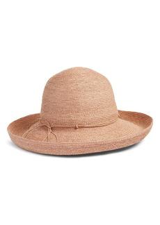 Helen Kaminski Rolled Brim Raffia Hat