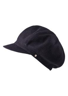 Helen Kaminski Texture Wool Baker Boy Cap