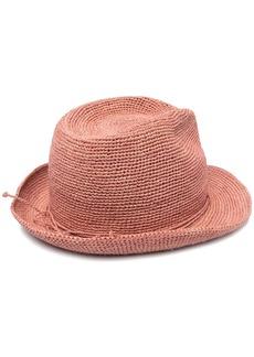 Helen Kaminski tie fastening fedora hat