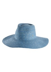 Women's Helen Kaminski Maiya Wide Brim Raffia Hat - Blue