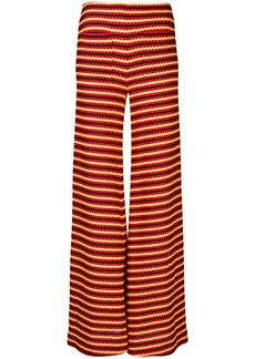 Hellessy flared striped trousers