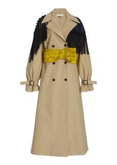 Hellessy - Women's Marshall Oversized Trench Coat - Multi - Moda Operandi