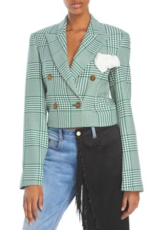 Hellessy Walsh Plaid Cropped Jacket - 100% Exclusive