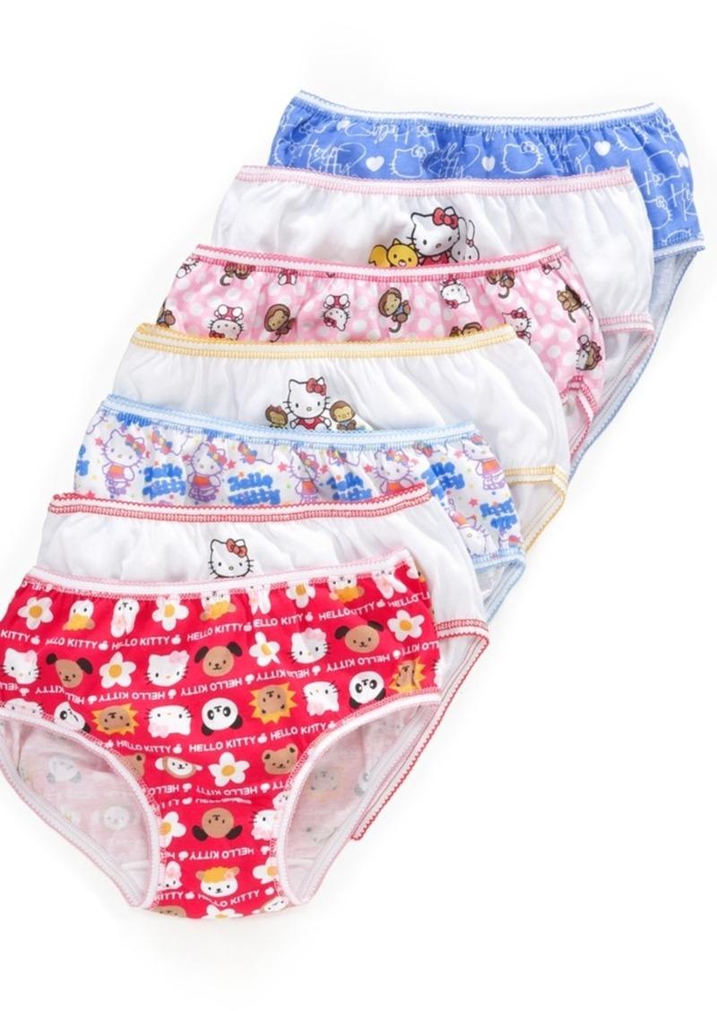 Hello Kitty 7-Pack Cotton Underwear, Little Girls & Big Girls