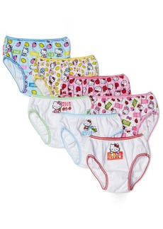 Handcraft Little Girls'  Hello Kitty  Underwear (Pack of 7) Multi