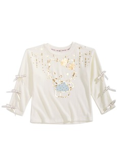 Hello Kitty Toddler Girls Graphic-Print Hacci Top
