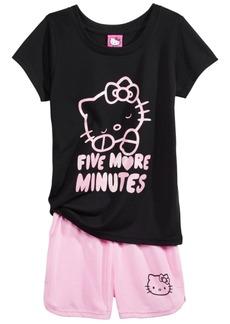Hello Kitty 2-Pc. Pajama Set, Little & Big Girls