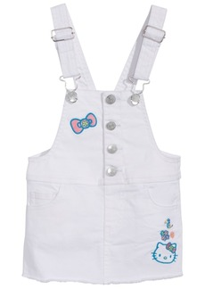Hello Kitty Baby Girls Denim Overall Jumper