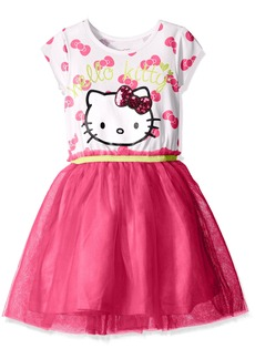 Hello Kitty Big Girls' Embellished Tutu Dress