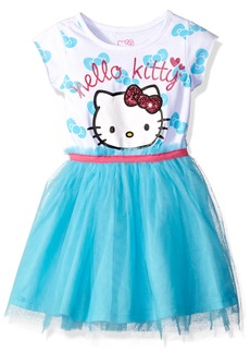 Hello Kitty Girls' Big Embellished Tutu Dress