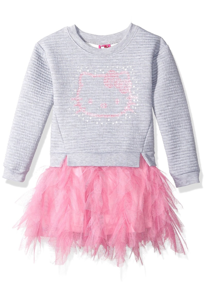 87b4ce327 Hello Kitty Hello Kitty Big Girls' Embellished Tutu Dress   Dresses