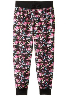 Hello Kitty Big Girls' Flower French Terry Pant