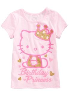 Hello Kitty Toddler Girls Birthday Princess T-Shirt
