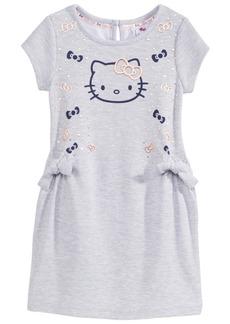 Hello Kitty Bow-Print Dress, Little Girls