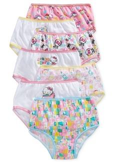 Hello Kitty Cotton Panties, 7-Pack, Toddler Girls