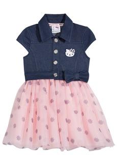 Hello Kitty Denim & Tutu Dress, Baby Girls