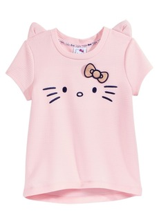 Hello Kitty Embroidered Face Top, Little Girls