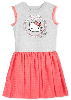 Hello Kitty Fit & Flare Dress, Toddler & Little Girls (2T-6X)