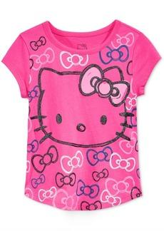 Hello Kitty Glitter Graphic-Print T-Shirt, Toddler Girls