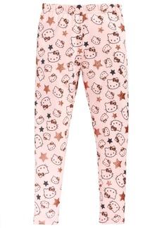 Hello Kitty Glitter-Star Leggings, Little Girls