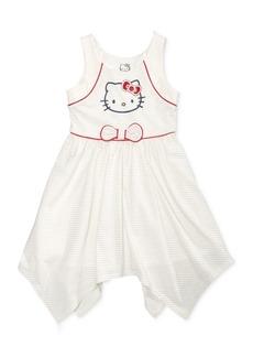 Hello Kitty Graphic-Print Handkerchief Dress, Toddler & Little Girls (2T-6X)