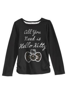 Hello Kitty Graphic-Print Shirt, Little Girls
