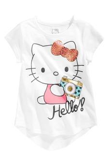 Hello Kitty Toddler Girls Hello! Camera Cotton T-Shirt