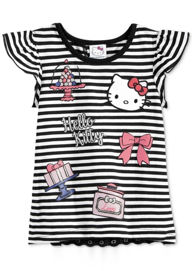 Hello Kitty Layered-Look Graphic T-Shirt, Toddler & Little Girls (2T-6X)
