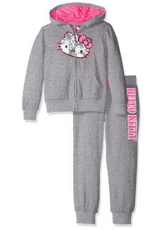Hello Kitty Little Girls' 2 Piece Embellished Active Set