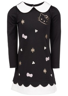 Hello Kitty Little Girls Contrast-Trim Dress