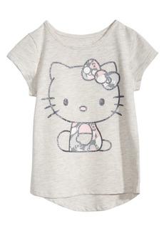 Hello Kitty Little Girls High-Low Hem T-Shirt