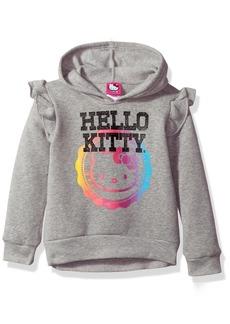 Hello Kitty Little Girls' Hoodie with Screen Print Sugar Glitter Sequins