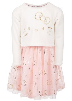 Hello Kitty Toddler Girls Layered Look Dress