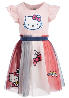 Hello Kitty Toddler Girls Patches Dress