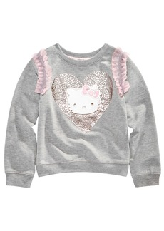 Hello Kitty Toddler Girls Ruffle-Trim Sweatshirt