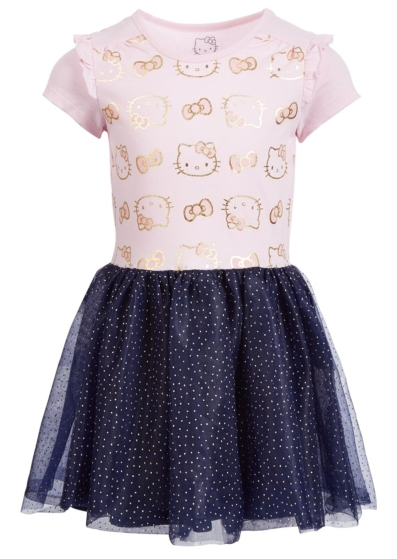 Hello Kitty Little Girls Shimmer Tutu Dress