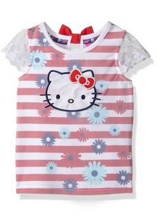 Hello Kitty Little Girls' Toddler Striped Sleeveless Top