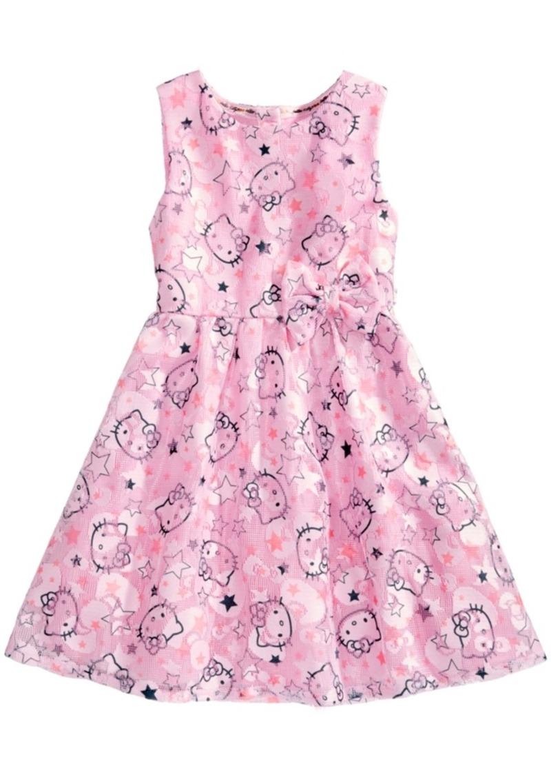d917b3e2752be Hello Kitty Hello Kitty Mesh Graphic-Print Dress