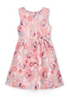 Hello Kitty Print Dress, Toddler & Little Girls (2T-6X)
