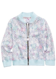 Hello Kitty Printed Lace Bomber Jacket, Little Girls