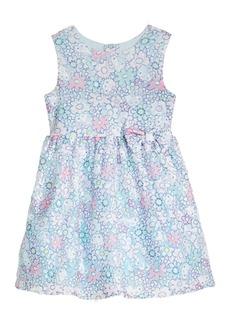 Hello Kitty Little Girls Printed Lace Dress